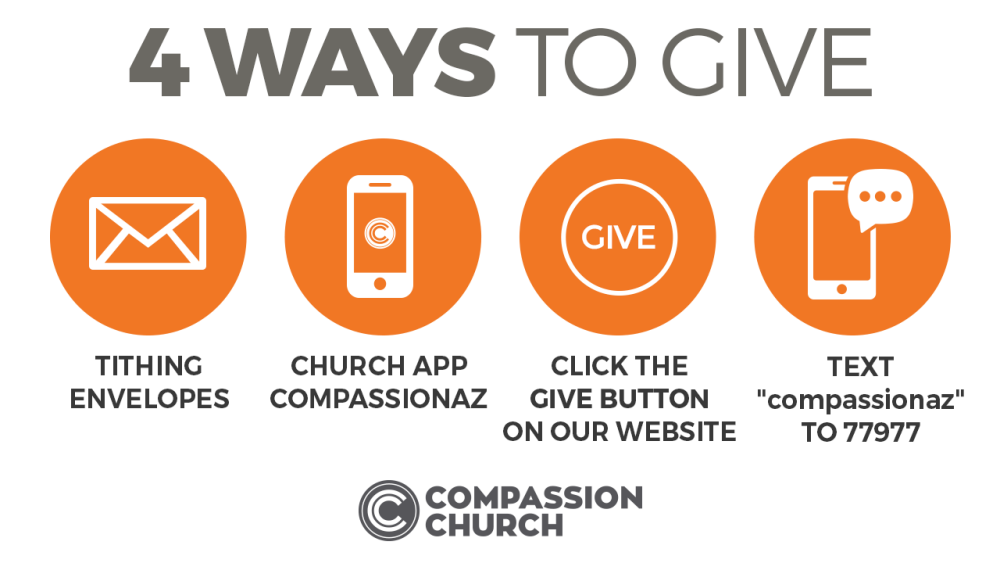 Give Now | Compassion Church