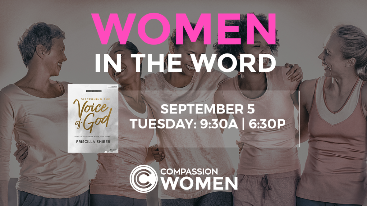 Women in the Word 9:30 am