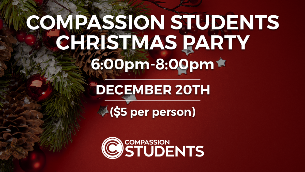 Compassion Students Christmas Party