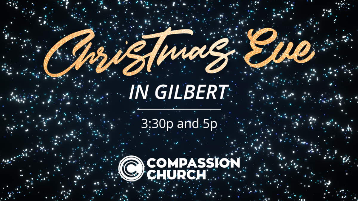 Christmas Eve Services!