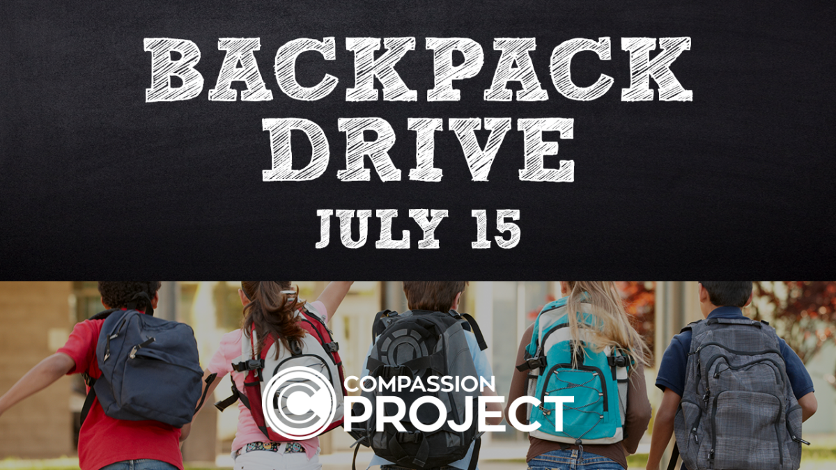Back Pack Drive - Compassion Project